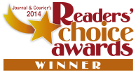Readers Choice Awards Winner 2012 and 2014